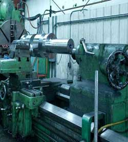 Great Lakes Forge makes components for press repairs